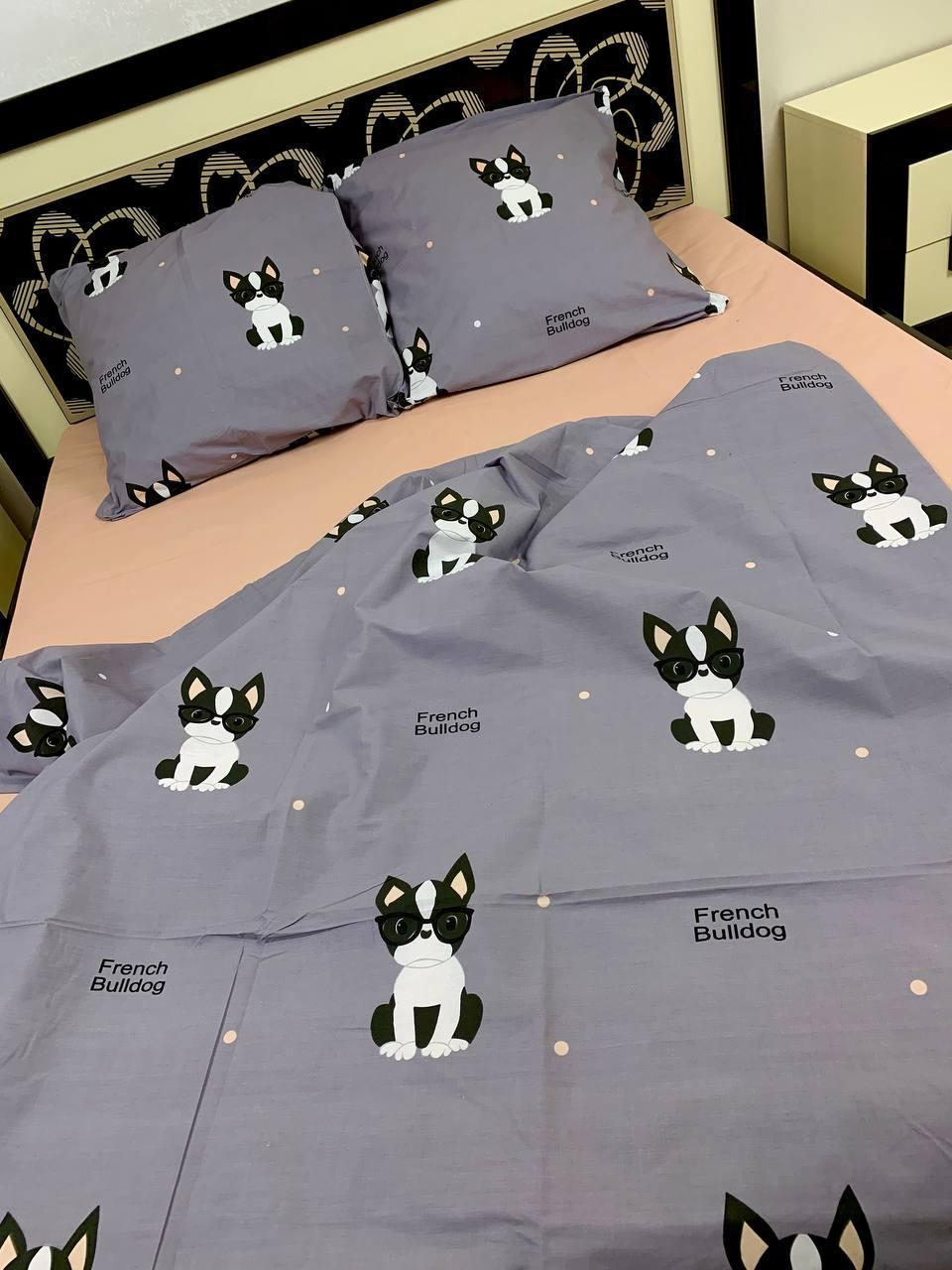 Постельное белье семейка с собачками