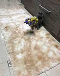 Рожевий килим травичка (високий ворс), фото 2