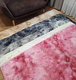 Прикомнатный коврик с высоким ворсом (молочный), фото 2