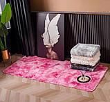 Прикомнатный коврик с высоким ворсом (молочный), фото 6