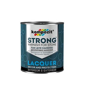 """Лак для каменю (грунтовка) STRONG """"Kompozit"""" (0,9 л)"""