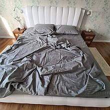 Евро постельное белье из страйп-сатина