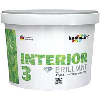 "Фарба інтер""єрна INTERIOR 3 ""Kompozit"" (1,4 кг)"
