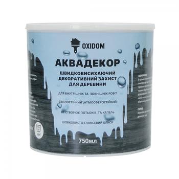Oxidom Аквадекор махагон 0,75 л