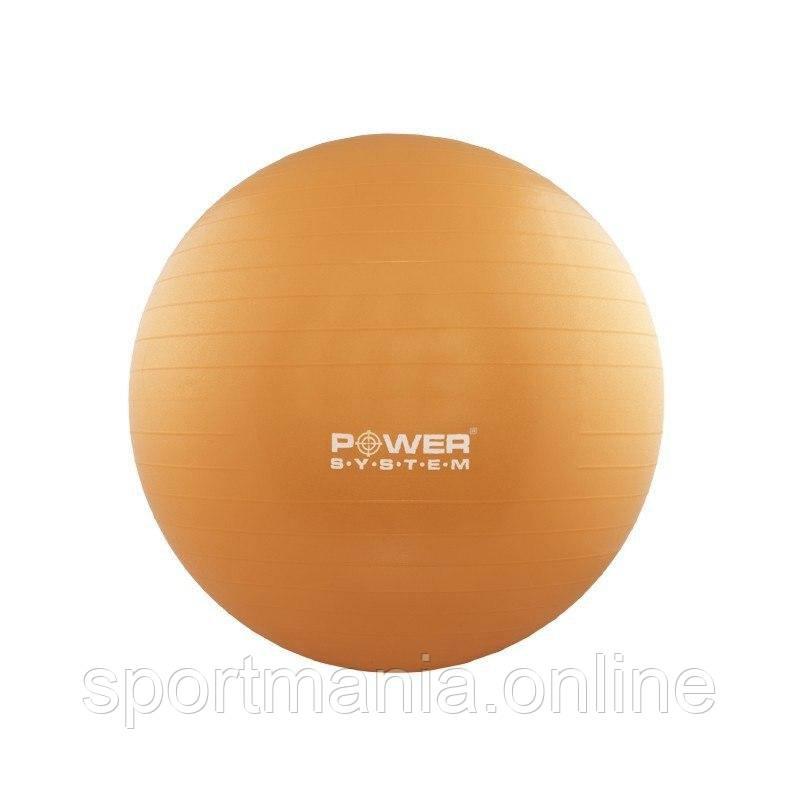 Мяч для фитнеса и гимнастики Power System PS-4018 85 cm Orange