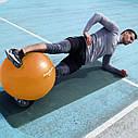 Мяч для фитнеса и гимнастики Power System PS-4018 85 cm Orange, фото 6
