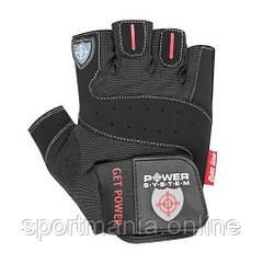 Перчатки для фитнеса и тяжелой атлетики Power System Get Power PS-2550 Black XXL