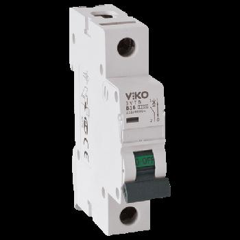 Автоматичний вимикач, 1P, хар.З, 16A, 4,5 kA 4VTB-1C16 (12)