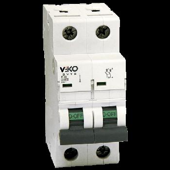 Автоматичний вимикач, 2P, хар.З, 20A, 4,5 kA 4VTB-2C20 (6)