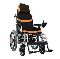 Складаний електричний візок інвалідний MIRID D6035С (режими: електро, активний). Літієва батарея – 20аг.