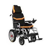 Складаний електричний візок інвалідний MIRID D6036C (знімний підголовник). Літієва батарея – 20аг.