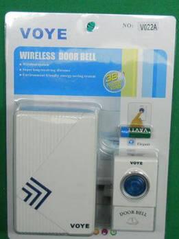Дзвінок дистанційний на батарейках V022a