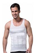 Утягивающая майка для мужчин Slim n Lift for Men Pro Размер M Белый (KG-2616), фото 2