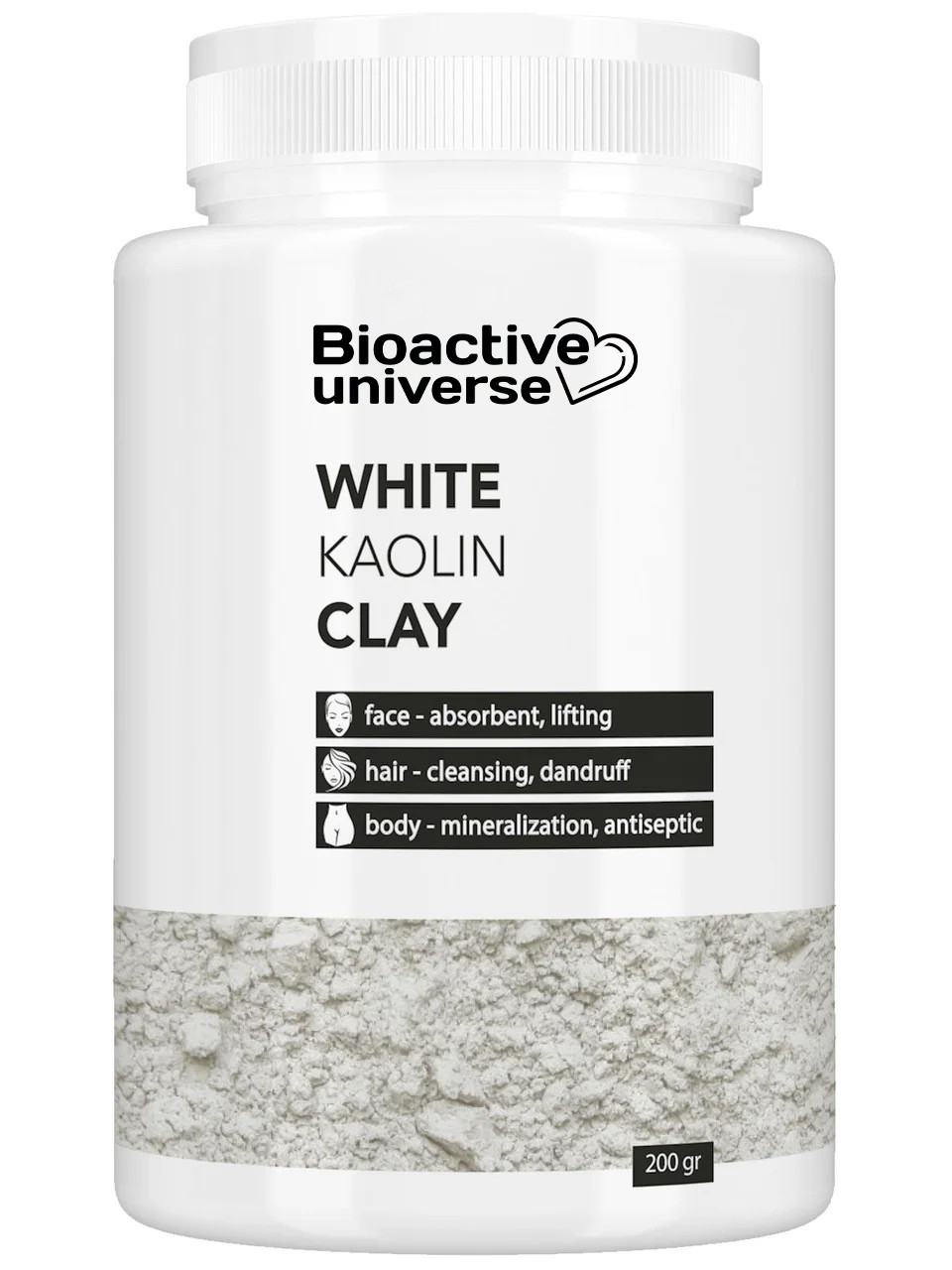 Глина біла (каолін), 200 г