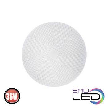 Світ.стельов.декор. 36W LED 6400K 2700K біл. Pixel-36 (027-011-0036-010)