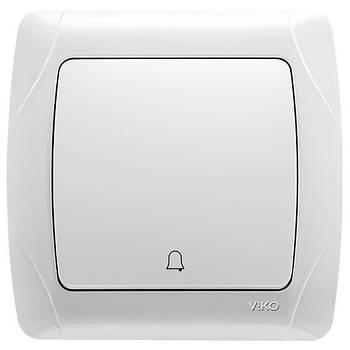 Кнопка дзвінка біла VI-KO CARMEN (90561006)