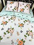 Постельное белье полуторка цветочки, фото 2