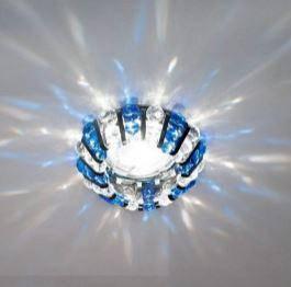 Світильник точ. CD2121 MR16 прозорий-мідь, хром 50W(3345)