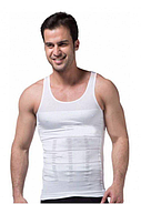 Утягивающая майка для мужчин Slim n Lift for Men Pro Размер XXL Белый (KG-2618), фото 2