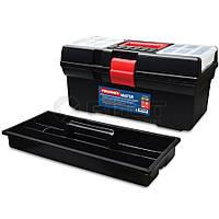 """Ящик для інструментів пластмасовий 16"""", """"Master""""410х220х200мм 52-521 Technics // Ящик для инструментов пластмассовый, """"Master"""""""