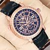 Яркие наручные часы Patek Philippe Geneve Gold/Black 1019-0075