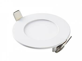 Світлодіодна панель кругла-6Вт (Ø120/Ø107) 6400K, 470 люмен (464RRP-06)