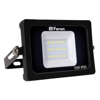 Прожектор світлодіодний LL-510 15LEDS 10W 6400K 230V (136*113*28mm) Чорний IP 65 (5318)