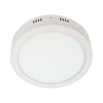 Світильник AL504 6W коло накладний 480Lm 5000K 120*40mm (4441)
