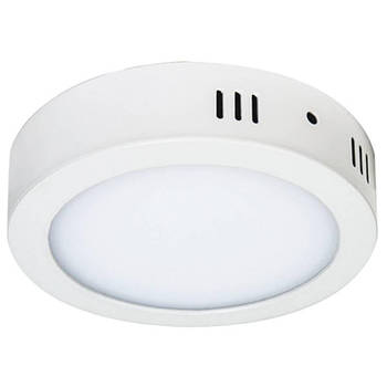 Світильник AL504 12W коло накладний 960Lm 5000K (4000K) 172*40mm (4442)