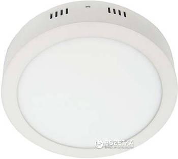 Світильний AL504 18W коло накладний 1440Lm 5000K (4000K) 225*40mm (4443/6660)