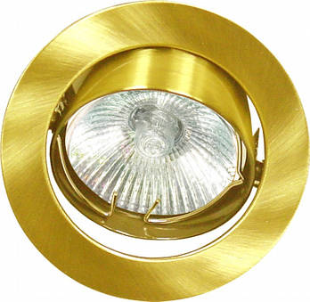 Світильник DL6021 MR16/G5.3 /античне золото поворотний (5419)