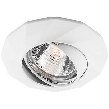 Світильник DL6021 MR16/G5.3 /білий поворотний (5418)