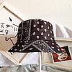Трендовая панама в принт банданы пейсли paisley print хлопковая панамка унисекс мужская женская, фото 7