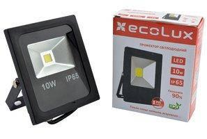 Прожектор Led ECOLUX 10W 220V IP65 6500K (SMB10)
