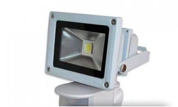 Прожектор Led з сенсором ECOLUX 20W 220V IP65 6500K (SMBM20)