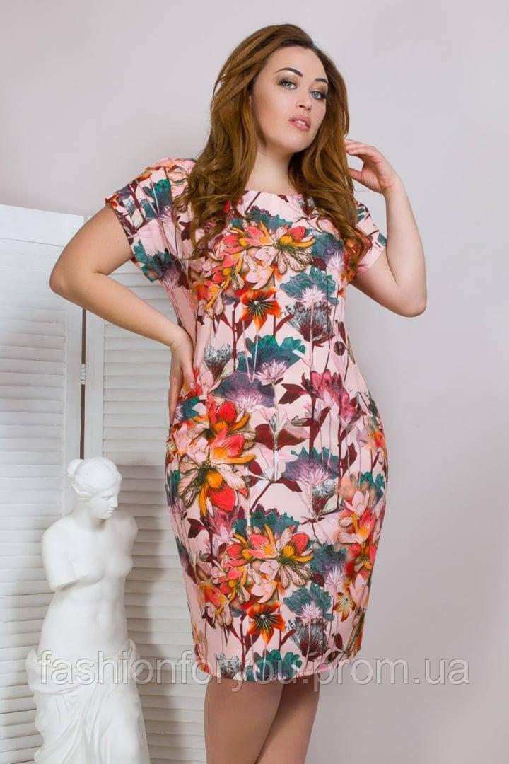 Летнее платье модель 4.