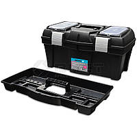 """Ящик для інструментів пластмасовий 18"""", металева защібка 455х240х225мм 52-557 Berg // Ящик для инструментов пластмассовый, металлическая застежка"""