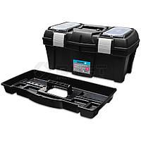 """Ящик для інструментів пластмасовий 22"""", металева защібка 550х255х255мм 52-558 Berg // Ящик для инструментов пластмассовый, металлическая застежка"""