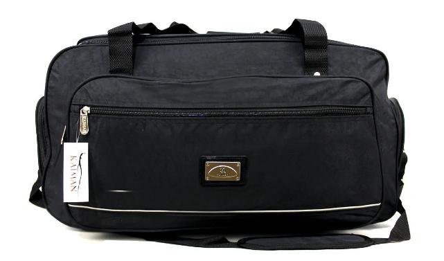 Дорожная большая сумка черная 70см (85-л ) YR-KM4808C Kaiman