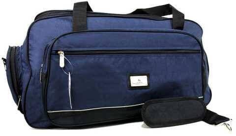 Большая дорожная сумка синяя 70см 85-л Кайман
