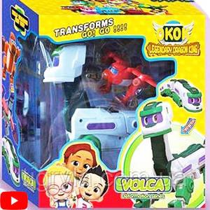Робот Трансформер Volca и Ти-Рекс Go Go Dino