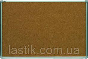 Дошка 45x60 см коркова в алюмінієвій рамці ALU23