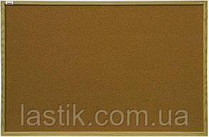 Дошка 45x60 см коркова в рамці MDF