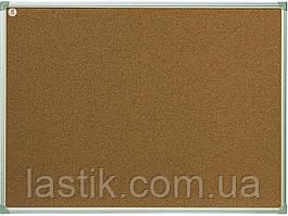 Дошка 30x40 см коркова в алюмінієвій рамці ecoBoard