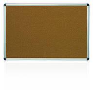 Дошка 60x90 см коркова в алюмінієвій рамці X-line