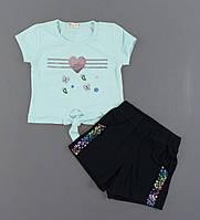 Комплект для девочек Breeze, Артикул: T0798-бирюза [110 СМ] {есть:104 СМ,110 СМ,122 СМ,116 СМ,98 СМ}