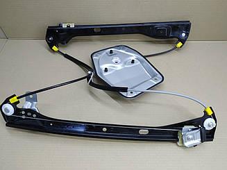 Левый стеклоподъемник передней двери Вольксваген Жетта V без мотора / VOLKSWAGEN JETTA V (2005-2010)