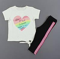 Комплект для девочек Breeze, Артикул: T15980-молочный [116 СМ] {есть:116 СМ,128 СМ,134 СМ,140 СМ}