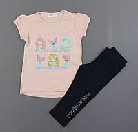 Комплект для девочек Breeze, Артикул: T15169-персик [104 СМ] {есть:104 СМ,86 СМ,92 СМ,98 СМ}