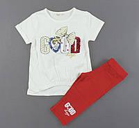 Комплект для девочек Breeze, Артикул: T13501-молочный [104 СМ] {есть:122 СМ,116 СМ,110 СМ,104 СМ}